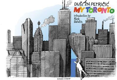 DUSAN PETRICIC  - KNJIGA - MY TORONTO