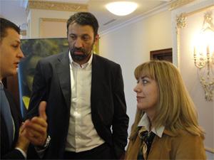 MINISTARKA Snezana Samardzic Markovic i DIVAC