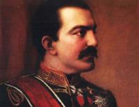 Kralj Milan Obrenovic, slika iz 1881